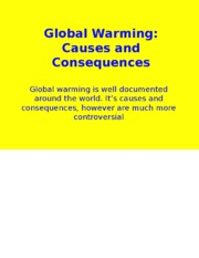 PPT-31 Global Climate Change