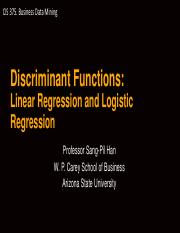 CIS_375_Discriminat Functions_Linear and Logistic Regression(1).pdf