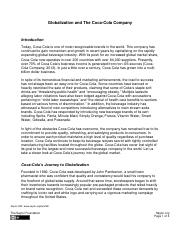 Unit 3 Case Study - Globalization and Coca Cola.pdf