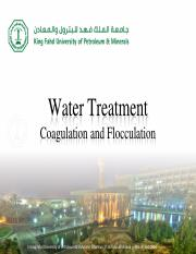 CE330-Chapter-10 - Coagulation and Flocculation
