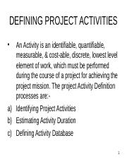 DEFINING PROJECT ACTIVITIES-P-7-CTPM.ppt