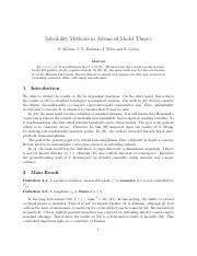 Solvability Methods in Advanced Model Theory.pdf