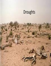 Droughts and Wildfires