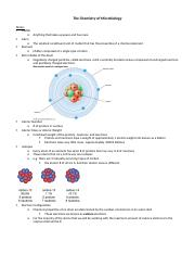 2. The Chemistry of Microbiology (1)