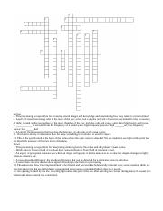 crossword_2_for_sensation_and_perception