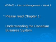 3 Introduction to Canadian Business.ppt