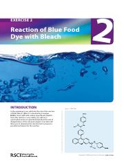 UV-Vis Exercise 2 - Reaction of blue food dye with bleach_Teacher resource pack_ENGLISH (1)