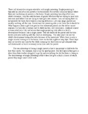 parenting styles essay