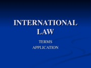 _8  INTERNATIONAL LAW