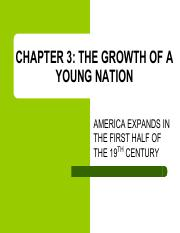 Copy of Ch 3 Growth of a Young Nation