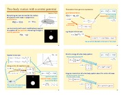 Lecture Notes G on Classical Mechanics