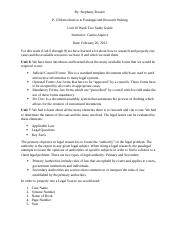 Unit 10 Week Two Study Guide
