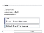 Exam 1 Review Questions_Class