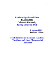 COL+UNIV+2012+SPRING-Multidimensional+Gaussian+Random+Variables-+1+JAN+2012