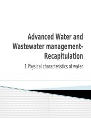 1.Chracteristics of water-physical (2)