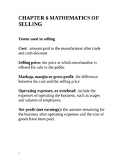 CHAPTER_6_MATHEMATICS_OF_SELLING-_student