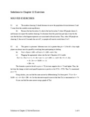 game theory solutions11