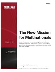 The New Mission for Multinationals.pdf