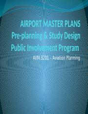 AVM3201-L02-Airport Master Plans I