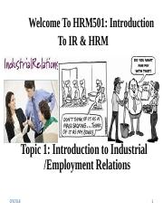 HRM501Topic 1.ppt