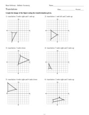 Translations_Worksheet Bassett High MATH Algebra - Spring 2013 Kuta ...