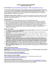 MKT3000 research participation instructions spring 2013