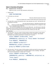 CS 2240 - 2 SQL - Quiz 3 - Functions (for students)