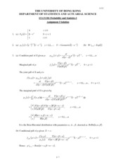 stat1301hw5 solutions 2011