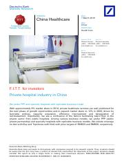 DeutscheBank_ChinaHealthcarePrivatehospitalindustryinChina_Mar_07_2016.pdf