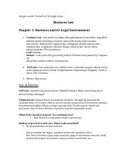 Business Law Ch.1-6 Notes.docx