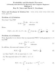 Processes yates probability pdf stochastic and 3rd