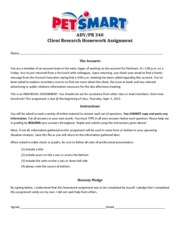 PetSmart- Client Research HW Assignment_1