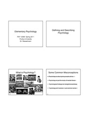 Introduction to Psychology%28slides%29