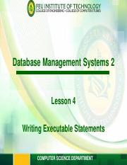 ITESPEC1 Module 4 - Writing Executable Statements.pdf
