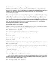 emcee script docx - ELLA ALYANNA Isang mapagpalang hapon sa