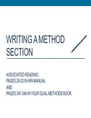 Writing+a+Method+Section+Upload