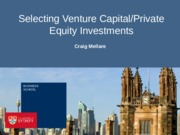 Lec3 Selecting VC&PE Investments BB(1)
