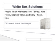 Sample White_Box_Solutions_Power_Point