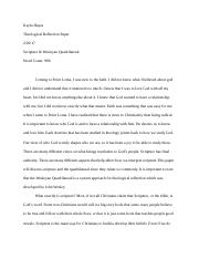 Theological Reflection Paper.docx