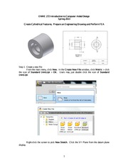 Inventor cylindrical part FEA