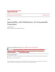 Sustainability with Globalization_ An Unsustainable Proposition.pdf