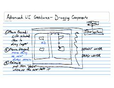 Lecture Notes CSE132 2008-03-18 Advanced UI Gestures - Dragging Components