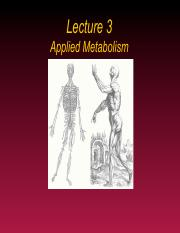 Lecture 4 Applied Metabolism Fall 2014bb