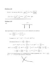 Physics 137A Homework 4 Solutions