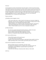 Natural Hazards - Final Study Guide
