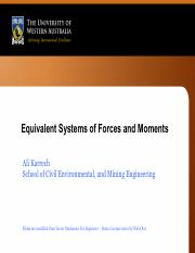 Week 6 -Equivalent Systems of Forces and Moments.pdf