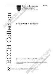 C3 - South West Windpower