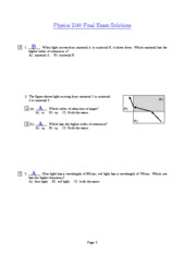 Exam5Solutions