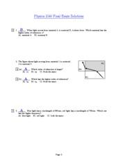 Exam5Solutions