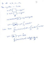 Linear System Notes